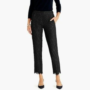 J. Crew Easy Pant In Lace.